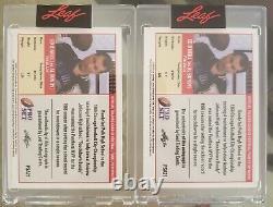 1 Leaf Pro Set Al Bundy Ed O'Neil Auto LE 5/99 LE 6/99 Autograph cards In Hand