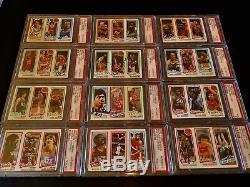 (167) 1980 Topps NBA Basketball Autographed HOF Set Lot Auto Vintage NBA PSA/DNA