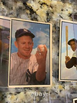 1953 Bowman Complete Set, Investment Mickey Mantle, Peewee, Ford, Yogi Berr