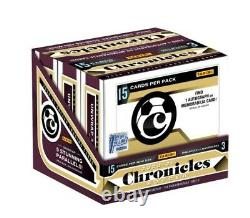 1st Off The Line 2020-21 Panini Chronicles Soccer Trading Card Box (in Hand)