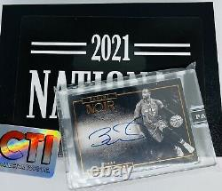 2015-16 Panini Noir Basketball Dwyane Wade On Card Auto 2021 Nscc Black Box 1/1