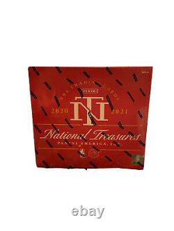 2020-21 Panini National Treasures NBA Basketball Sealed Hobby Box IN HAND