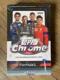 2020 Topps Chrome Formula 1 SEALED UNOPENED Hobby box IN HAND