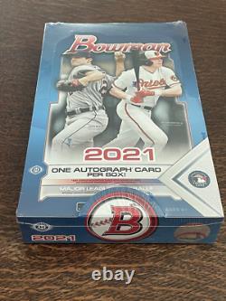 2021 Bowman Baseball HOBBY BOX Sealed In Hand Topps Autographs