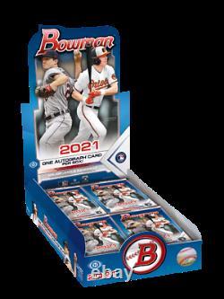 2021 Topps Bowman Baseball Hobby Box Factory Sealed IN HAND SHIPS NOW