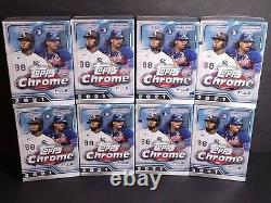 2021 Topps Chrome MLB Baseball Blaster (8) Box Lot IN HAND HOT HOT! FREE SHIP