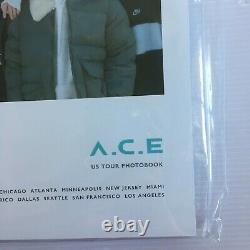A. C. E Undercover 2019 Us Tour Exclusive Photobook All Member Hand Sign Autograph