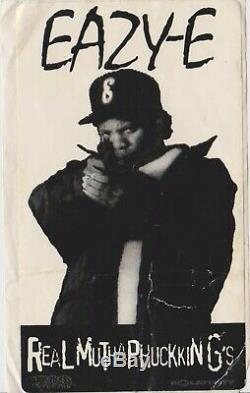 (AUTOGRAPHED) EAZY-E KOKANE OG DRESTA Ruthless Records 1993 (HAND SIGNED)