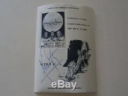Authentic Neil Armstrong Hand-Signed Sieger Belgium Stamp Block Apollo 11 NASA