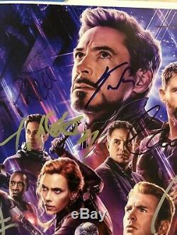 Avengers Endgame Cast Signed Original Print! 16x20 Hand-Signed Autograph