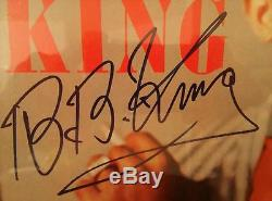 B. B. King Autographed Framed LP Hand Signed Record Album By BB King B B King