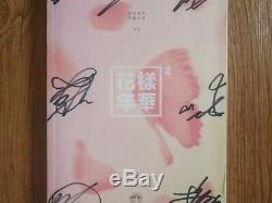 BTS BANGTAN BOYS HYYH Album Promo Autographed Hand Signed