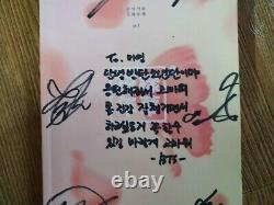 BTS BANGTAN BOYS HYYH Album Promo Autographed Hand Signed Message