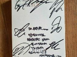 BTS BANGTAN BOYS Love Yourself Her Album Promo Autographed Hand Signed