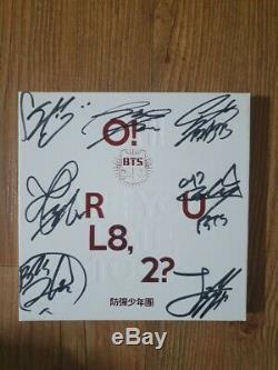 BTS BANGTAN BOYS Promo 1st Mini Album Autographed Hand Signed