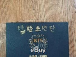BTS BANGTAN BOYS Promo 2 Cool 4 Skool Album Autographed Hand Signed Type B