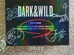 BTS BANGTAN BOYS Promo Dark & Wild Danger Album Autographed Hand Signed
