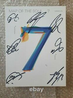 BTS BANGTAN BOYS Promo MAP OF THE SOUL Autographed Hand Signed
