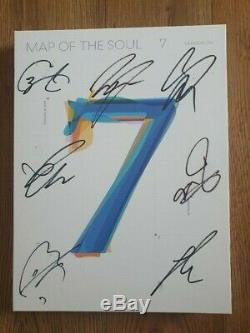 BTS BANGTAN BOYS Promo album MAP OF THE SOUL Autographed Hand Signed Type A