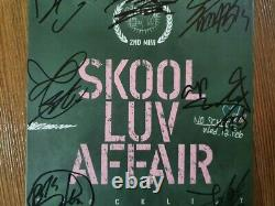 BTS BANGTAN BOYS Skool LUV Affair Promo Album Autographed Hand Signed