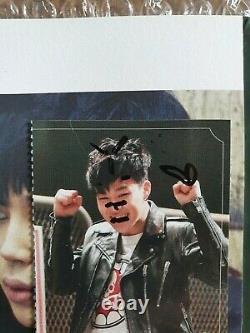 BTS BANGTAN BOYS Skool Luv Affair Album Fan Sign Event Autographed Hand Signed