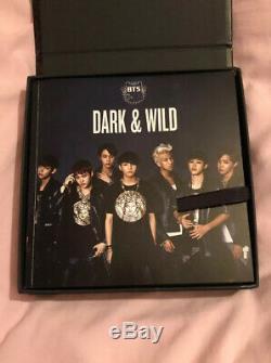 BTS BANGTAN Dark & Wild Danger Album Autographed Hand Signed JIN Photocard