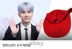 BTS Celuv. Tv Star Donation Event Prize Treasure Autographed Hand Signed suga