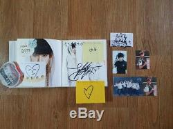 BTS Fan Meeting O RUL8 2 1st Mini Album Autographed Hand Signed Post it JUNGKOOK 01