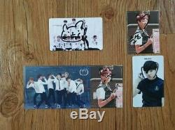 BTS Fan Meeting O RUL8 2 1st Mini Album Autographed Hand Signed Post it JUNGKOOK 03 qfy
