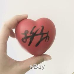 BTS JUNGKOOK HAND SIGNED BALL FANMEETING JPN KIMINI TODOKU Autograph Heart 2016