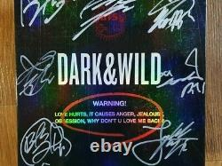BTS Promo Dark & Wild Danger Album Autographed Hand Signed