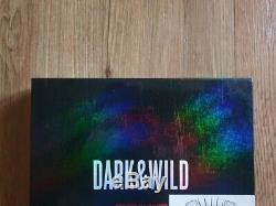 BTS Promo Dark & Wild Danger Album Autographed Hand Signed Type A