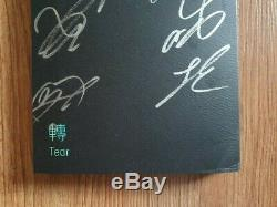 BTS Promo Love Yourself Tear Album Autographed Hand Signed Type A