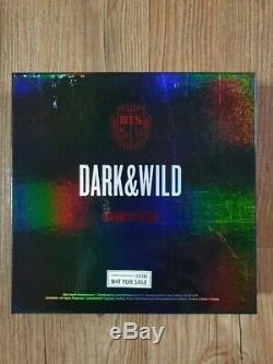 BTS Promo Promo Dark & Wild Danger Album Autographed Hand Signed Type Message A