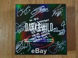 BTS Promo Promo Dark & Wild Danger Album Autographed Hand Signed Type Message B