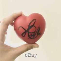 BTS V HAND SIGNED BALL FANMEETING VOL. 3 JAPAN KIMINI TODOKU Autograph Heart 2016