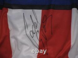 CADEL EVANS Hand Signed Cycling Jersey