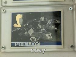 Carroll Shelby GOLD Mustang Cards Hand Signed Signature Auto Set Lot Autograph