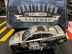 Dale JR & JEFF GORDON HAND SIGNED 2016 N. W. DARLINGTON 1/24 Diecast Autographed