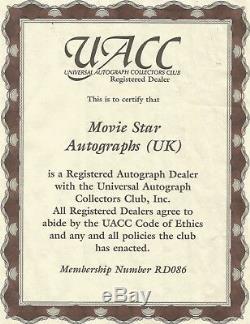Dave Prowse Darth Vader Deagostini helmet hand signed UACC AFTAL Dealer