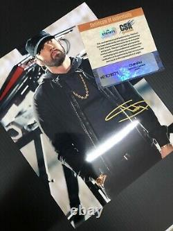 EMINEM Authentic Hand Signed Autograph 10x8 Photo with COA