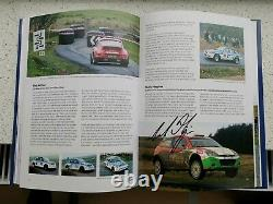 EPYNT! A Stage Rallying History Hand Signed Out Of Print Book Wales Rally GB RAC