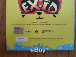 EXID 2012 Hippity Hop Promo Album Autographed Hand Signed