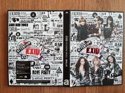 EXID Holla Whoz That Girl Digital Single Promo Album Autographed Hand Signed