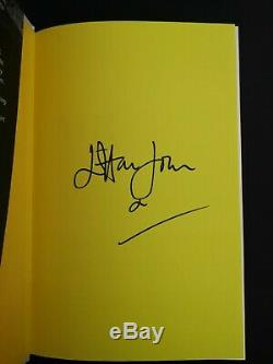 Elton John Hand Signed Me Book Obtained In Person Signing Waterstones +wristband