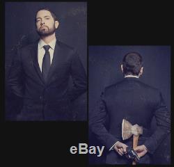 Eminem MTBMB Autographed Lithograph Set In Hand LE of 100