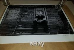 Eminem Slim Shady Hand Signed Autograph Lithograph Poster MMLP2 2013 287/500