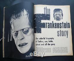 FAMOUS MONSTERS OF FILMLAND #1 VERY RARE HAND AUTOGRAPHED by FORREST ACKERMAN