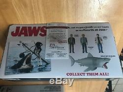 Funko Reaction Jaws Great White Shark Action Figure CAST SIGNED 3 Autographs JSA