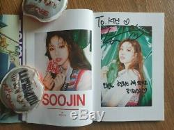G IDlE GIDLE Fan Meeing Event I am Album Autographed Hand Signed Photocard